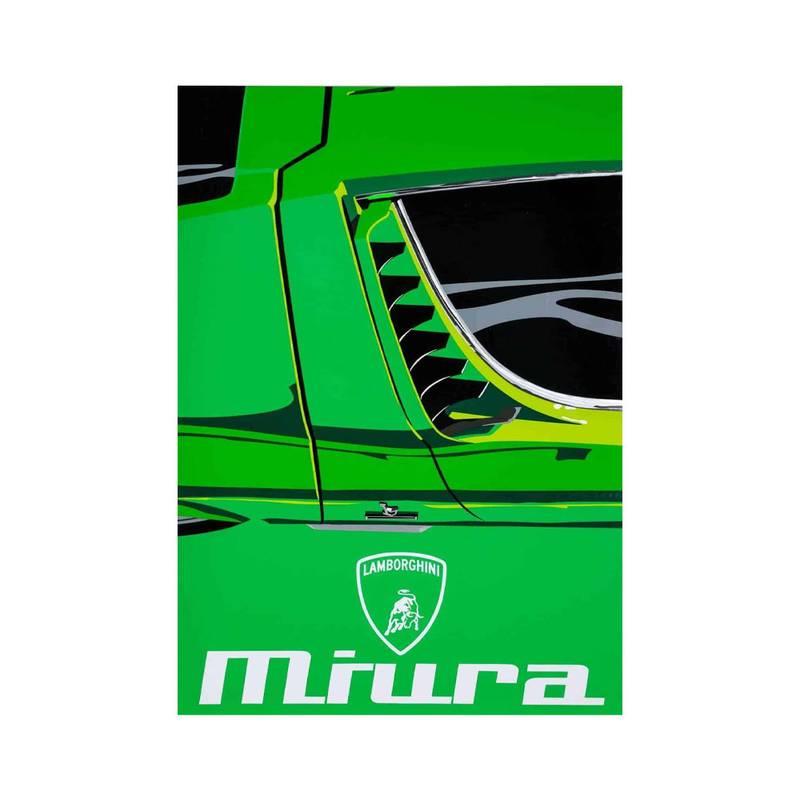 Product image for Lamborghini Miura | Joel Clark | poster-print