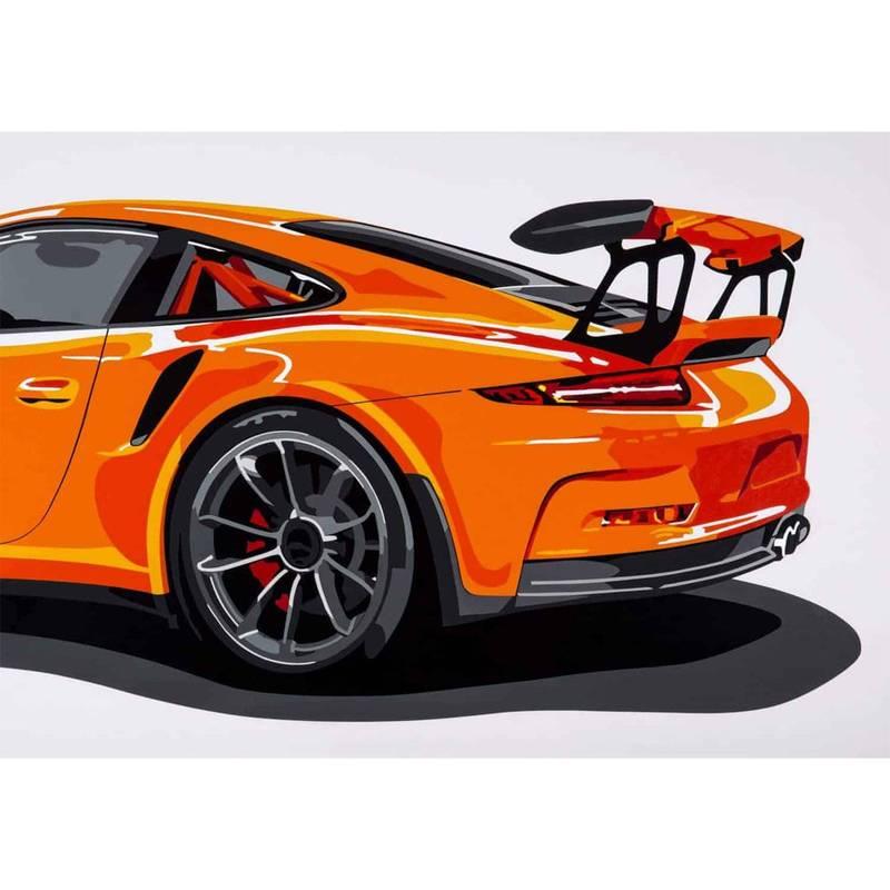 Product image for Porsche GT3RS | Joel Clark | poster-print