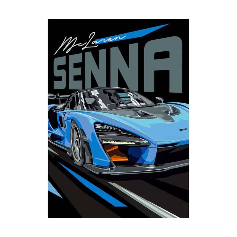 Product image for McLaren Senna | Joel Clark | poster-print