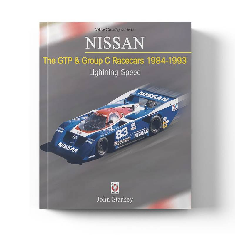 Product image for Nissan – The GTP & Group C Racecars 1984-1993 | John Starkey | Paperback