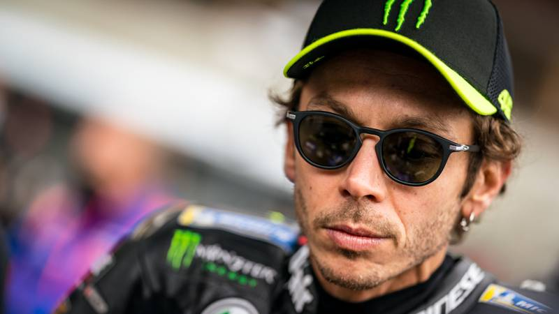 Valentino Rossi set to miss Aragon races after positive Coronavirus test