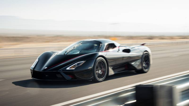 SSC Tuatara sets 331mph record to become world's fastest production car