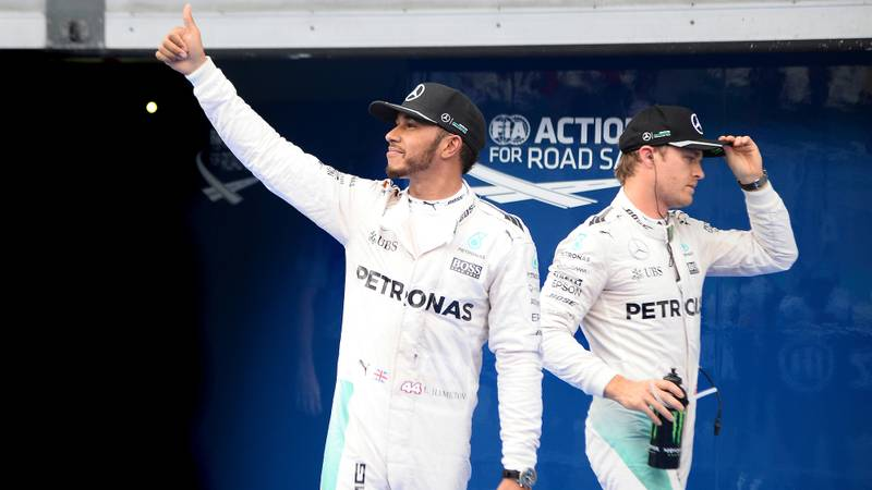 Hamilton v Rosberg: the rivalry resumes
