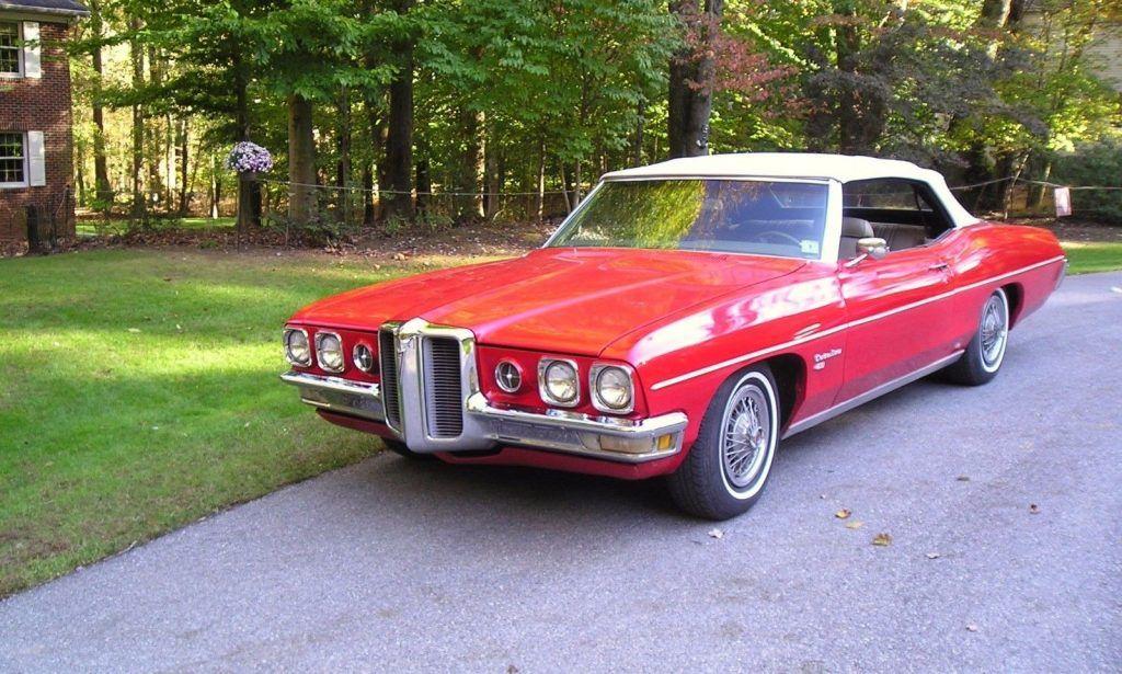 older repaint 1970 Pontiac Catalina Convertible