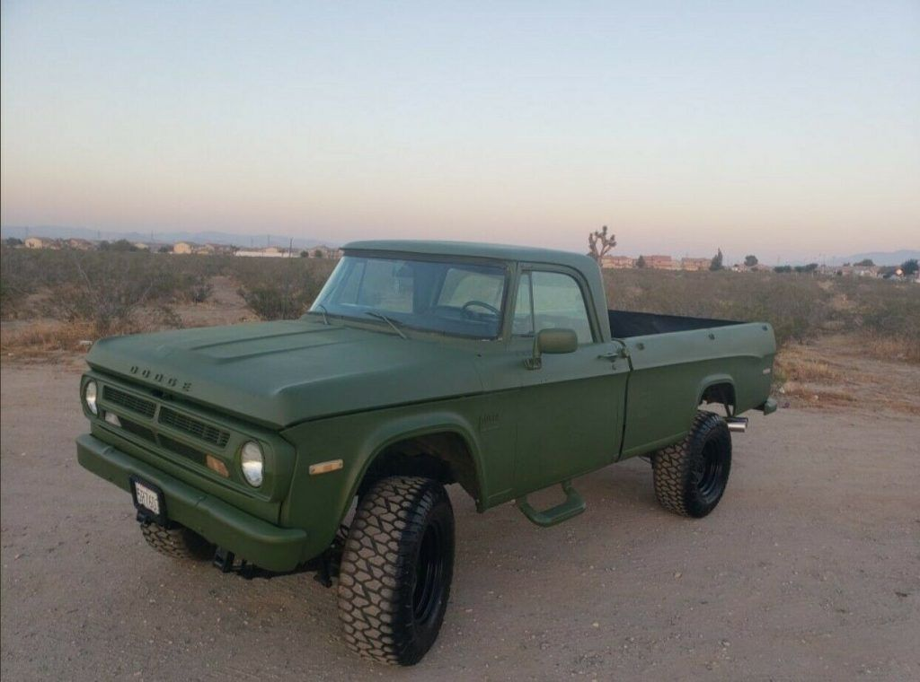 1971 Dodge Pickup Truck